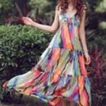 Melhores lojas online da China para comprar barato vestidos maxi por atacado em estilo Bohemian