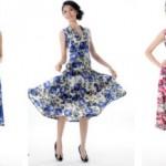 AliExpress.com: o shopping para todos os tipos de vestidos florais moda 2013