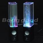 Divertido Gadget: Alto-falantes de Dança água Luz LED