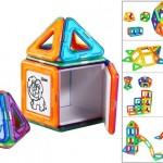 brinquedo criativo: brinquedo de montagem magnética inteligente para crianças